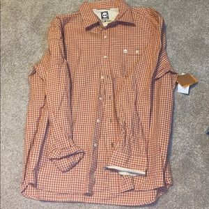 NWT, Timberland Button Up